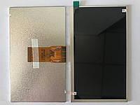 "Дисплей матрица для планшета 7"" BRAVIS NP 725 3G Тип1, 50 pin, размер 164*97*3 мм, (1024*600)"
