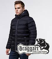 Braggart Aggressive 15181 | Зимняя мужская куртка сине-черная