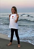 Детская футболка Likee .  На 9-13 лет,  140 см. Футболка лайк, лайкее.