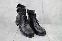 Ботинки женские Sonata Boni черные (замша, зима), фото 1