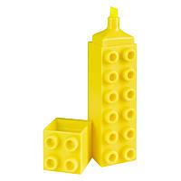 Маркер Brunnen Лего текстовый 3 мм Желтый