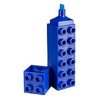 Маркер Brunnen Лего текстовый 3 мм Синий