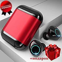 Бездротові навушники безпровідні наушники блютуз Bluetooth 4.2 Wi-pods S7 водонепроникні із зарядним Оригінал