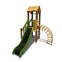 """Игровой комплекс """"Малыш- NEW"""" T801 NEW оранжево-зеленый"""