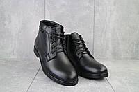 Ботинки мужские Bonis 5526 11/2/15 черные (натуральная кожа, зима), фото 1