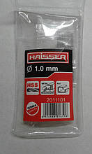 Cверло HAISSER DIN 338  1,0х12х34 мм  ц/х ср. с. 10шт