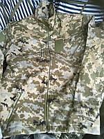 Куртки флисовые форменные светлый пиксель, 54 р и др