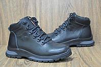 Мужские ботинки натуральная кожа и натуральный мех в стиле Under Armour
