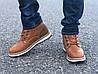 Мужские зимние ботинки Польша коричневые, фото 4