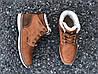 Мужские зимние ботинки Польша коричневые, фото 5