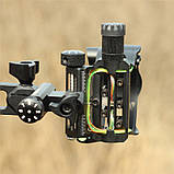 "Прицел для блочного лука DB9150 Retina RH (5 пинов, 0.019"", микрорегулировка, подсветка), фото 4"