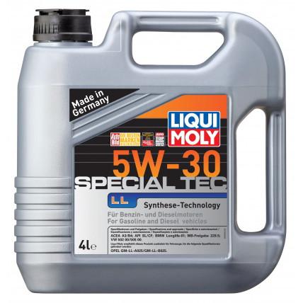 Масло моторное синтетическое LIQUI MOLY Leichtlauf Special LL 5W-30, 4л Украина Харьков
