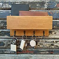 Ключница деревянная настенная, фото 1
