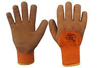 Перчатки утепленные покрытые вспененным латексом