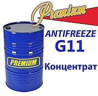 Антифриз G11 концентрат 215кг бочка (синий) TM Premium