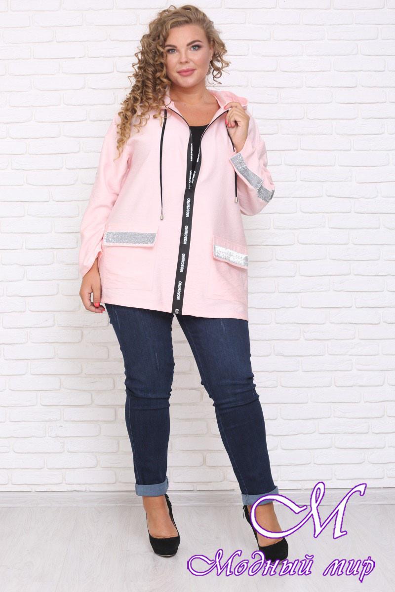 Женская стильная куртка батал (р. 42-90) арт. Мичиган