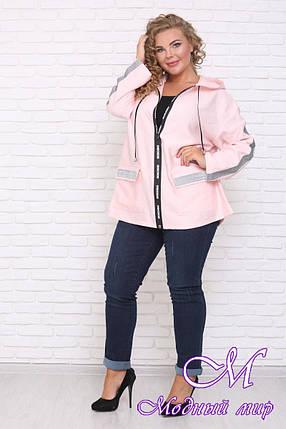 Женская стильная куртка батал (р. 42-90) арт. Мичиган, фото 2