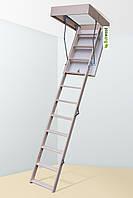 Горищні сходи Bukwood Compact Long 120х80, 120х90, 130х60,130х70, 130х80, 130х90, фото 1