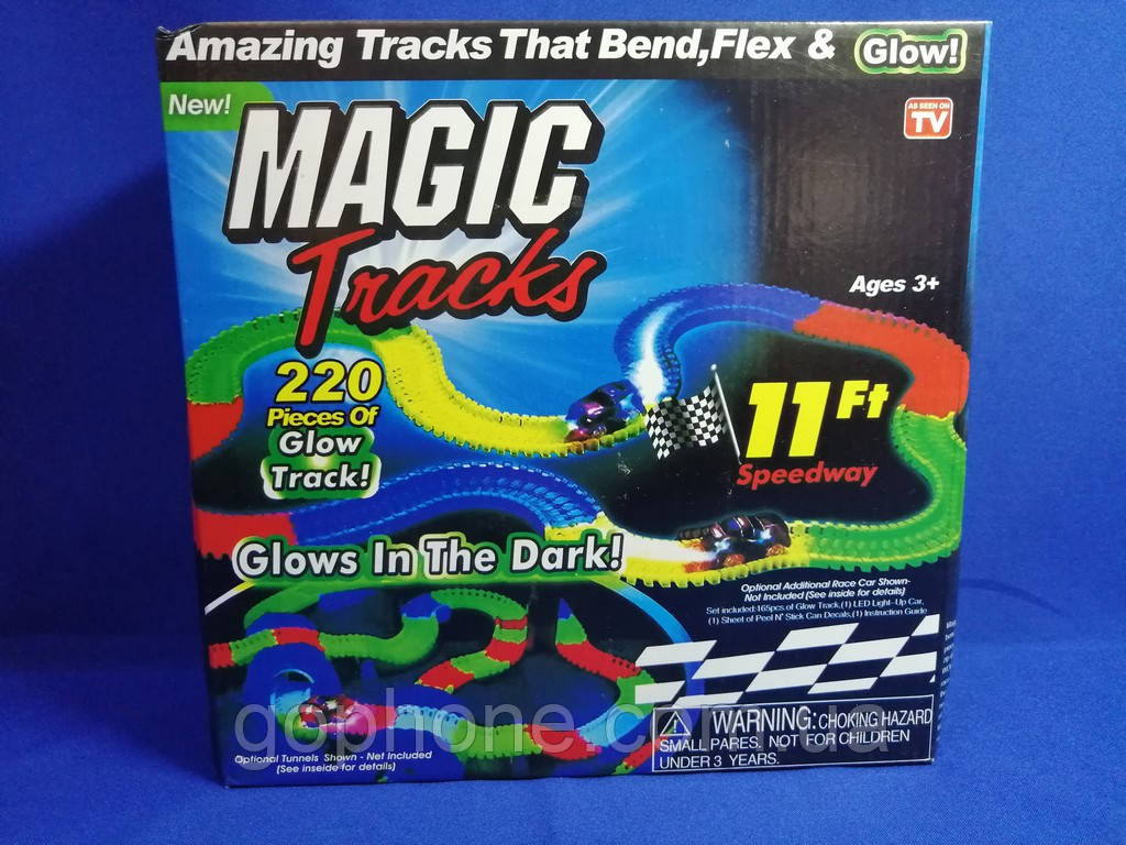 Автотрек Magic Tracks (220 деталей)