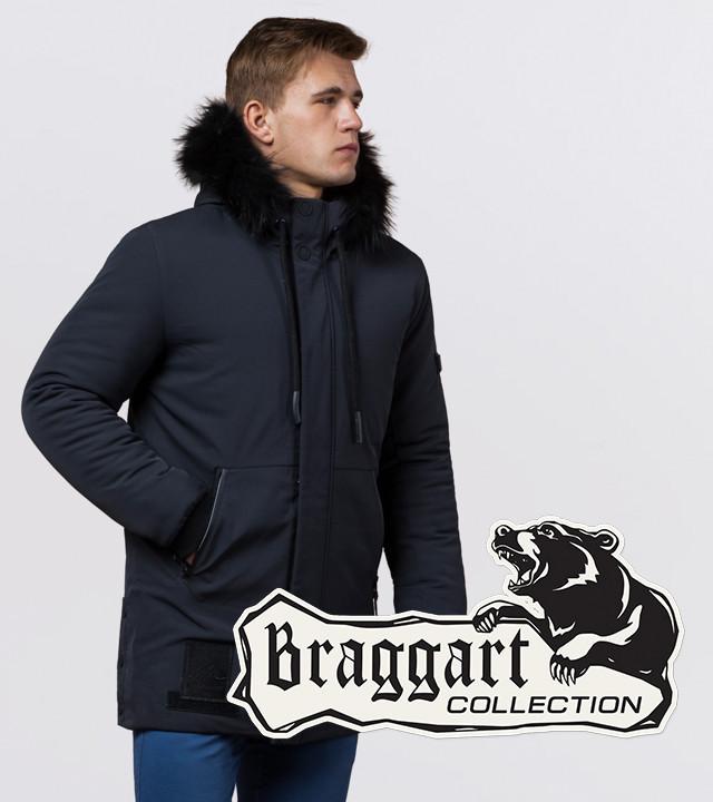 Braggart Black Diamond 9985   Куртка мужская зимняя графит