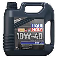 Масло моторное полусинтетическое LIQUI MOLY Optimal 10W-40, 4л Украина Харьков