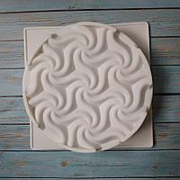 Форма силиконовая для евро-десетов Tessellation cake