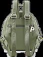 Женский кожаный рюкзак Picard Luis оливковый 4 л, фото 4
