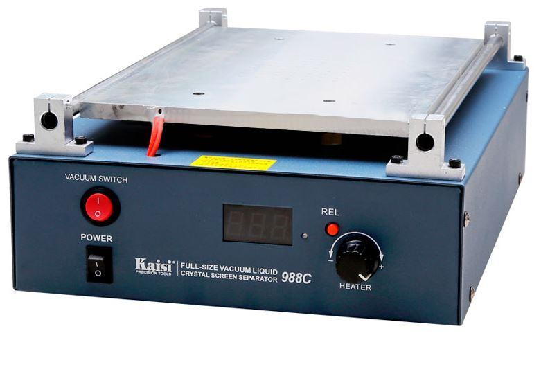 Сепаратор Kaisi 988C (28x20) вакуумный 14 дюймов для разделения модуля, со встроенным компрессором