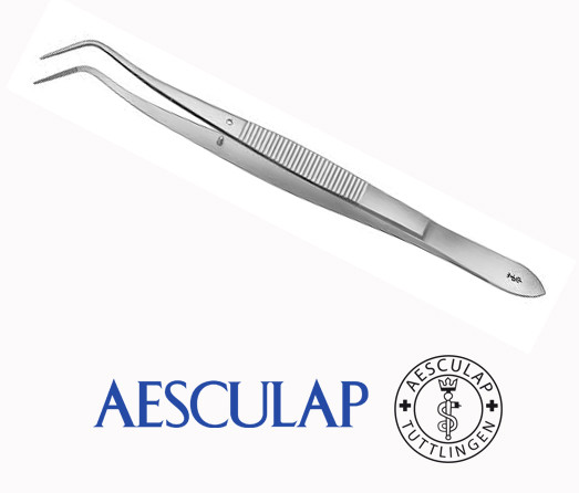 Пинцет стоматологический изогнутый Aesculap