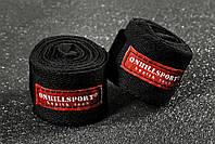 Бинты боксерские хлопок (пара) 5,5 м Onhillsport BNT- 5.5  (черный)