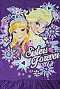 Нарядное фиолетовое платье с Эльзой и Анной Disney (США) (Размер 7-8Т), фото 3