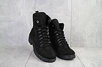 Женские ботинки кожаные зимние черные Vikont 7-2-32, фото 1