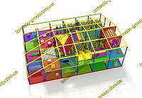 """Лабиринт детский игровой комплекс для помещения """"Лего"""", фото 1"""