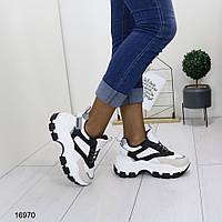 Женские зимние кроссовки на танкетке и платформе, А 16970