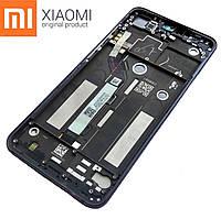 Оригинальный дисплейный модуль Xiaomi Mi 8 Lite (Серый). Экран + тачскрин + рамка