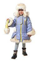 Зимний Комплект для девочек Бетти сиреневый Батик  (р.116)
