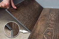 Кварцвиниловая плитка с фаской на замках