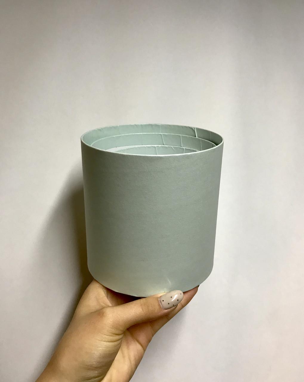Коробка маленькая круглая без крышки