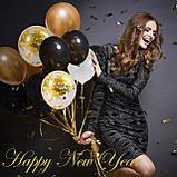 Набір повітряних кульок Гірлянда бульбашок для фотозоны, свят весілля, день народження, вечірка, ювілей, фото 2