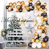 Набір повітряних кульок Гірлянда бульбашок для фотозоны, свят весілля, день народження, вечірка, ювілей, фото 4