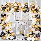 Набір повітряних кульок Гірлянда бульбашок для фотозоны, свят весілля, день народження, вечірка, ювілей, фото 6