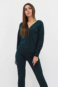 S (42-44) / Повсякденний жіночий костюм Nevada, зелений