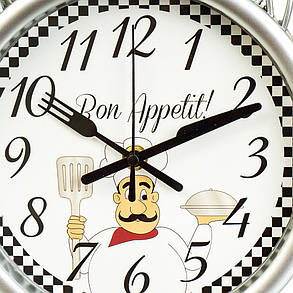 "Часы ""Bon appetit"" 35см (2003-012), фото 2"
