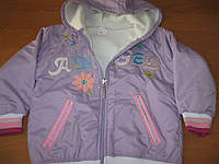 Куртка - ветровка    для девочек  Ангел  104 см  Турция, фото 1