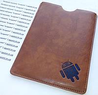 """Универсальный чехол-карман для планшета, диагональ 8"""" дюймов, коричневый"""