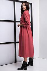 Молодёжное платье из костюмной ткани