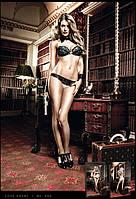 Трусики BACI - Champagne Panties With Black Lace, M/L (B880-CHAMPAGNE-M/L)