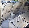 Комплект - Защита на спинку сиденья и сидушку в машину (черный), фото 3