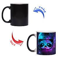 Чашка хамелеон Panda in Space 330 мл