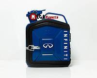 Канистра бар 5л, с маркой авто Инфинити / Infiniti Подарок водителю, мужчине